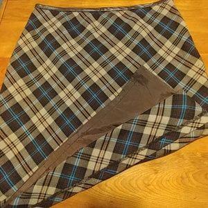 Cute plaid skirt